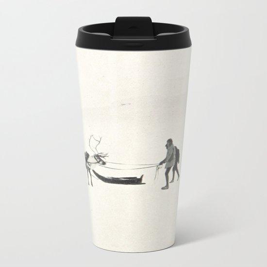 Winter Spirit #prints Metal Travel Mug