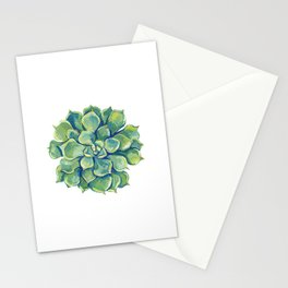 November Succulents Stationery Cards