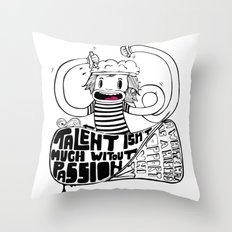 Brainiac Throw Pillow