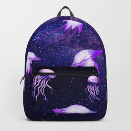 Space jelly fish Backpack