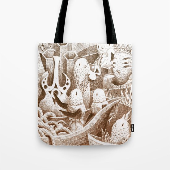 The Bay Tote Bag
