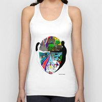 korea Tank Tops featuring A trip to Korea  by doctusdesign