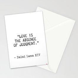 Dalai Lama quote Stationery Cards