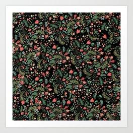 Floral Patern Art Print