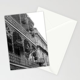 New Orleans Architecture - Black & White Photography Stationery Cards