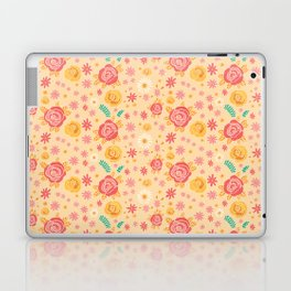 Peach Roses Laptop & iPad Skin