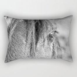 Horse Portrait 2 Rectangular Pillow
