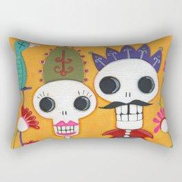 Throne of Bone Rectangular Pillow