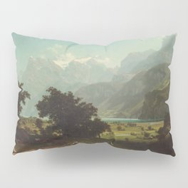 Albert Bierstadt - Lake Lucerne (1858) Pillow Sham