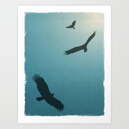 As Free as a Bird Art Print