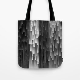 Fringe (Black and White) Tote Bag