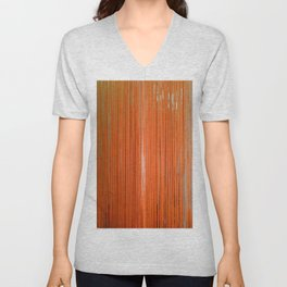ORANGE STRINGS Unisex V-Neck