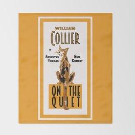 On the Quiet Throw Blanket
