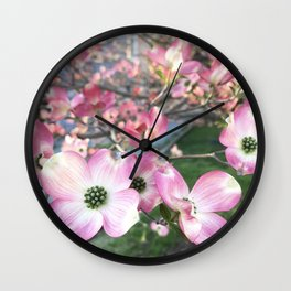 Reach Out - Flowering Dogwood Wall Clock
