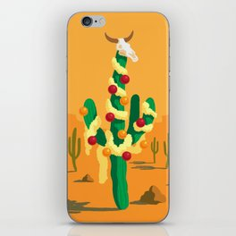 Merry Cactus iPhone Skin