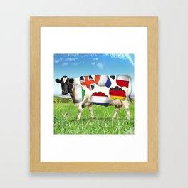 European cheeses Framed Art Print