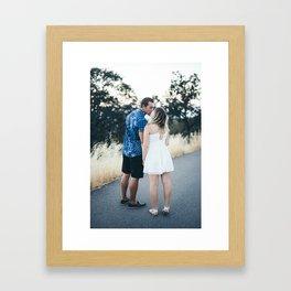 Luke and Alina Framed Art Print