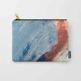 Painterly Abstract Carry-All Pouch