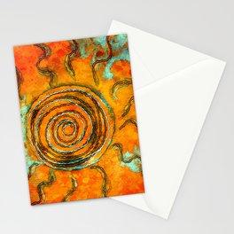 Southwest Sun Burst Stationery Cards