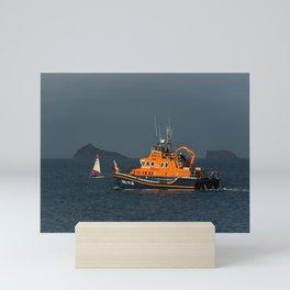 RNLI Lifeboat Torbay Mini Art Print