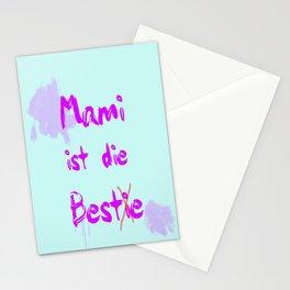 Mami ist die Bestie Stationery Cards
