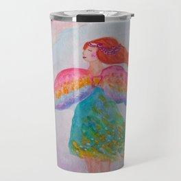 Rainbow Wings Travel Mug