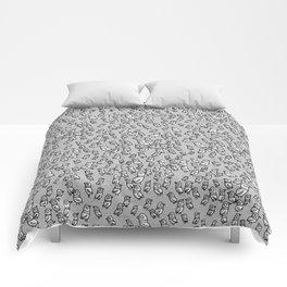 Rockwell Birds - Gray Comforters