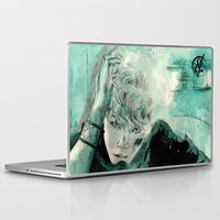 kpop Laptop & iPad Skins featuring B.A.P's ZELO by Worldandco