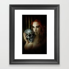 Lamenting Madonna Framed Art Print