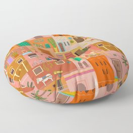 Marrakesh: The Red City Floor Pillow