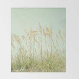 Sea Oats Throw Blanket