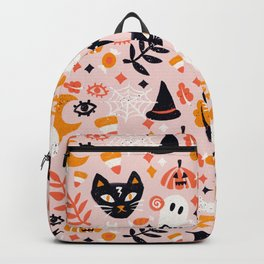 Trick Or Treat Yourself – Blush Backpack