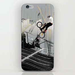 on the wire iPhone Skin