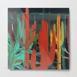 Cactus Dreams Metal Print
