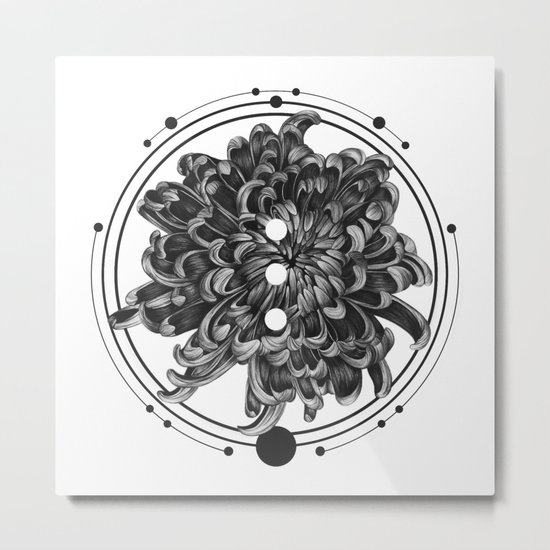 Elliptical III Metal Print