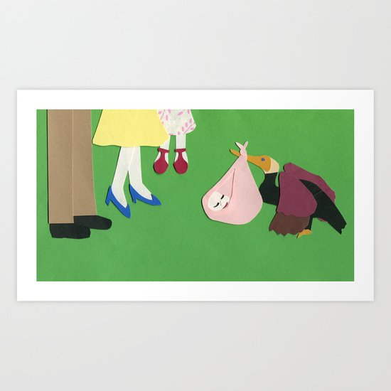 Welcome, Baby Art Print