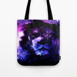 Lion leo purple Tote Bag