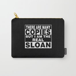 I Am Sloan Funny Personal Personalized Gift Carry-All Pouch