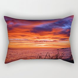 The Mighty Saint-Lawrence at Dawn Rectangular Pillow