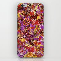 renaissance iPhone & iPod Skins featuring Renaissance Fair by Teri Newberry