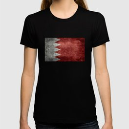 The flag of the Kingdom of Bahrain - Vintage version T-shirt