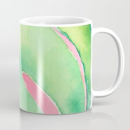 palm on pink Coffee Mug