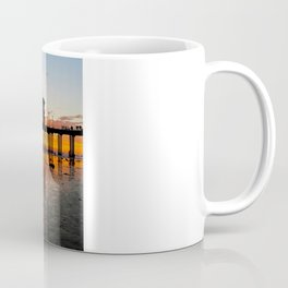 Sunset HB Pier / South Side   ( 9/7/13 ) Coffee Mug