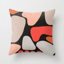 Shape Study II Throw Pillow