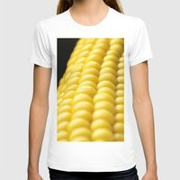 indiana T-shirts featuring Indiana Corn by Brian Raggatt
