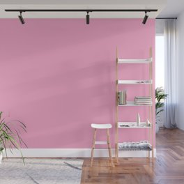 From The Crayon Box – Carnation Pink - Pastel Pink Solid Color Wall Mural