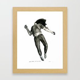 maybe nothing ever goes away Framed Art Print