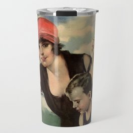 At the Seashore 1919 Travel Mug
