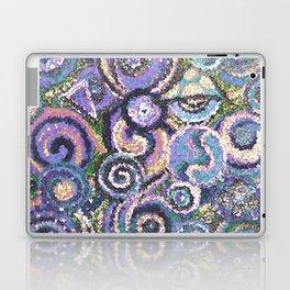 Textured Circles Laptop & iPad Skin