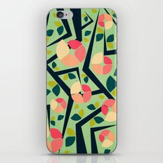 Blooming Trees Pattern II iPhone Skin